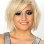 frizure za okruglo/ovalno lice 2014