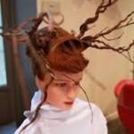 frizure pundje 2014   frizure pundje poznatih slike svecane sa pletenicama kako napraviti pravljenje 2014 53 150x150