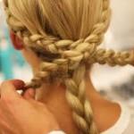 frizure pundje 2014   frizure pundje poznatih slike svecane sa pletenicama kako napraviti pravljenje 2014 99 150x150